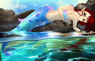 The Little Mermaid by loriofpandora