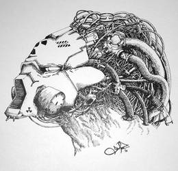 Cybernetic Predator by dennisdonohue