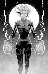 Captain Marvel by Hakan-AYDIN