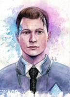 Connor by Tuchkathecancerart
