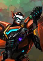 Blaster. Agent Blaster. by MamonnA