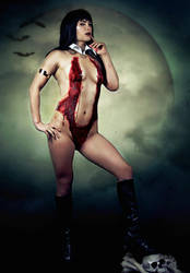 Vampirella Blood Cosplay Costume by NerdySiren