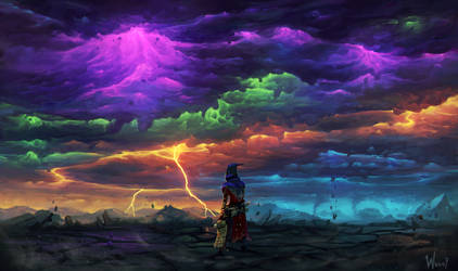 Chromatic Storm by Wuggynaut