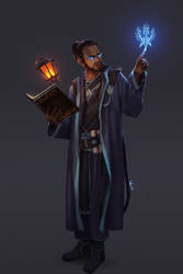 Scholar of the Shackled Archive by Wuggynaut
