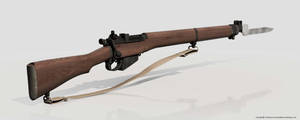 Lee-Enfield-Rifle by Ouroboros888
