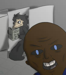 Larry's Selfie by DerpySuperHero