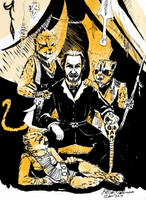 The Master and Cheetah by Nocturius