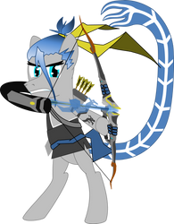 OverWatchPonies:Hanzo(ColdSnap) by ColdSnap777