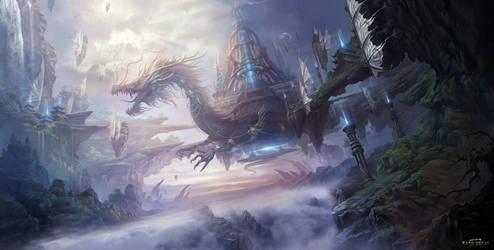 Dragon by white70WS