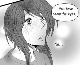 You have beautiful eyes. by susei1348