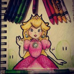 Princess Peach by susei1348