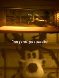 Tom's gonna give you a paddlin' by RichardtheDarkBoy29