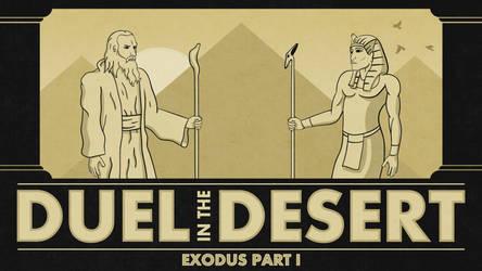 Duel in the Desert by JoshuaStolarz