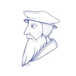 John Calvin by JoshuaStolarz