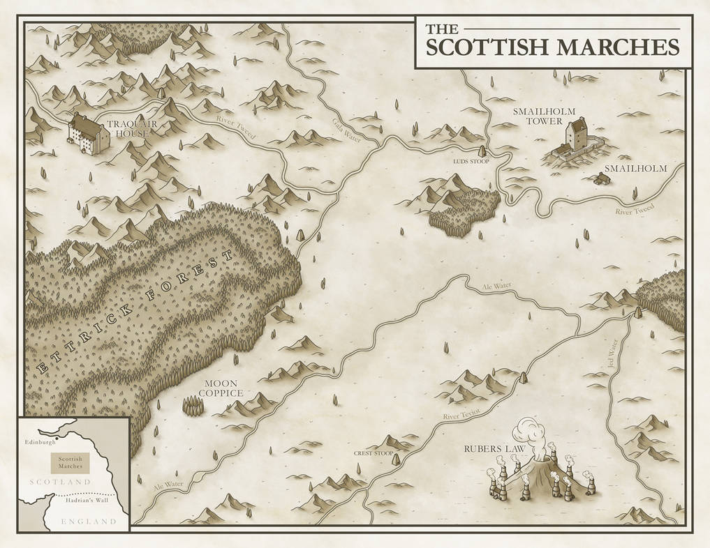 The Scottish Marches by JoshuaStolarz