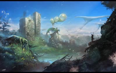 Plant World by Sarafiel