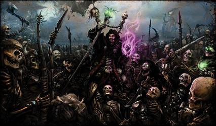 Iuun the Necromancer by Sarafiel