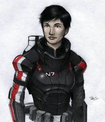 Shepard by RobtheDoodler