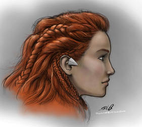 Aloy Profile by RobtheDoodler