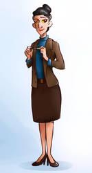 Strickler genderbend version by TOMEart