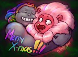 SU - Bismuth and Lion by Tanita-sama