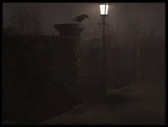 Street Fog by johnpf