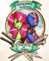 Daughters of Thanos, Sisters in arms by Hayele