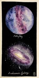 Galaxies by Hayele