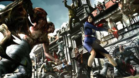 resident evil 6 DLC  2 by heatheryingNL