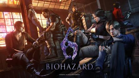 Resident Evil 6 by heatheryingNL