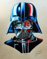 Darth Vader by TristanTemplar