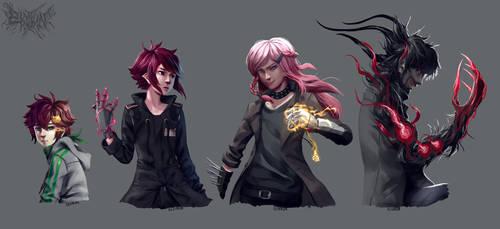 Random OC art by Elsiikun