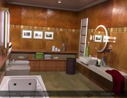 Bathroom by kkllss