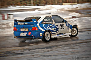 Ford Escort RS Cosworth #2 by redsunph