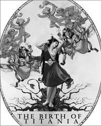 The Birth of Titania by Palas-Atenea