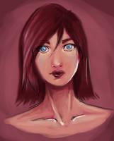 Portrait practice by Khaifer