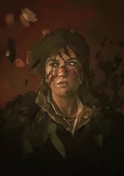 Lara Croft. by STIAB