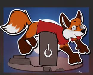 Derp noodly foxy by Sjru