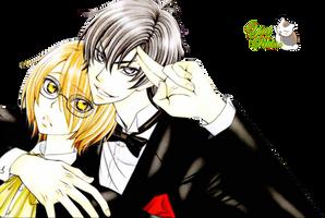 Render: Izumi y Ryouma by YaelRukia