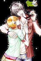Render:Izumi y Ryouma by YaelRukia