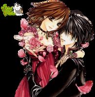 Render- Crow y Violeta by YaelRukia