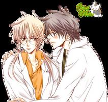 Render-Morinaga y Souichi by YaelRukia