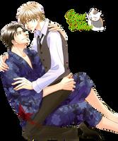 Render Ryu y Naoki by YaelRukia