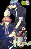 Render- Mamiya y Harumi by YaelRukia