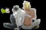 Render: Sajou y Kusakabe 2 by YaelRukia