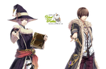 Render: Heishi y Ron by YaelRukia