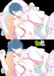 Render Tsuyoshi y Yukiko by YaelRukia