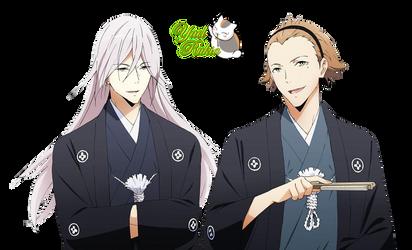 Render Kuga y Hasekura by YaelRukia