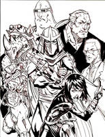 TMNT bad guys by lroyburch