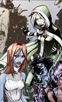 Rogue Mystique Night Crawler by lroyburch